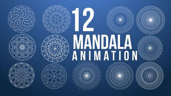 Mandala Animation Pack by shalva05 | VideoHive