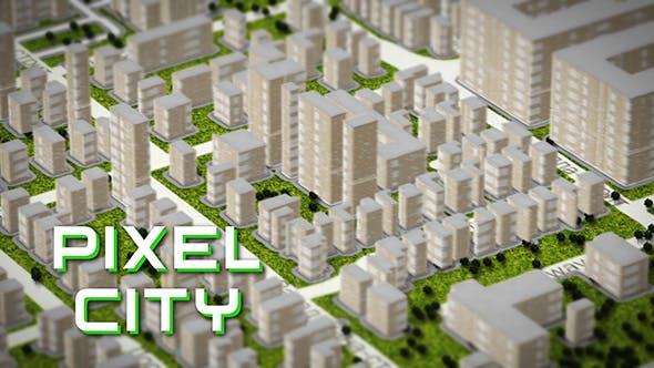 Pixel City 3D Map Generator by vitalik-videohive | VideoHive