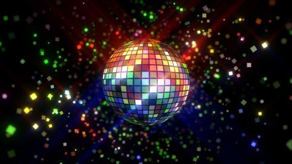 Neon Disco Ball Vj Loop By Gesh Tv Videohive
