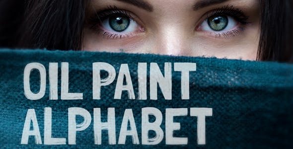 Videohive Oil Painting Alphabet Free Download