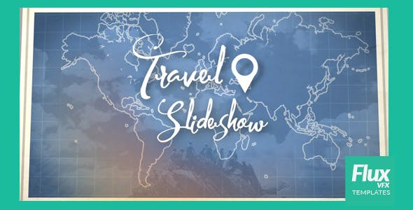Map Travel Slideshow by FluxVFX-templates | VideoHive