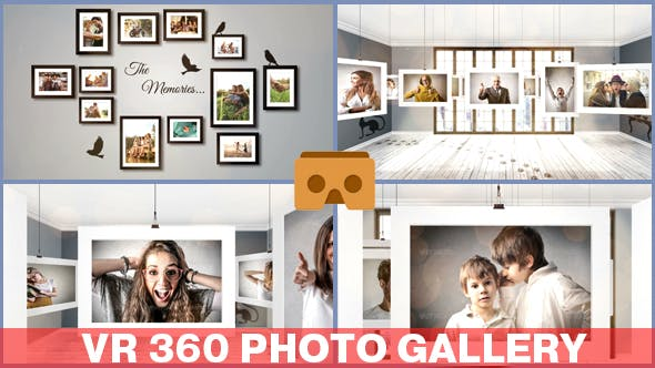 VR 360 Photo Gallery by armanim | VideoHive