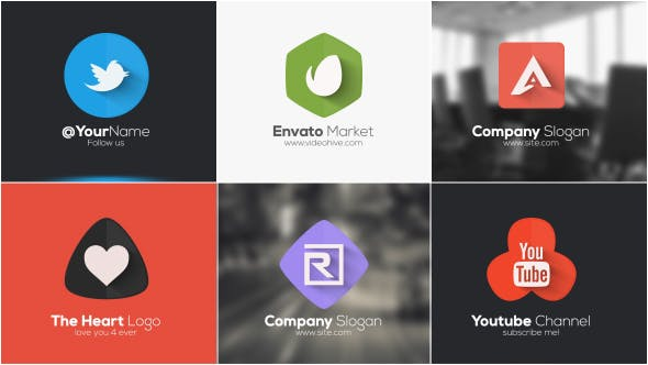 Short Minimal Logo by piktufa | VideoHive