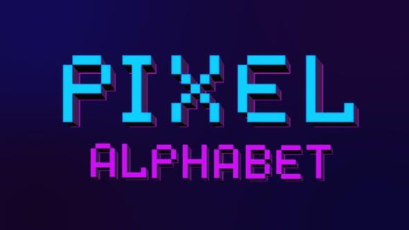 Pixel Letters by lordjony | VideoHive
