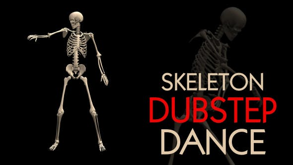 Skeleton Dubstep Dance by Handrox-G | VideoHive