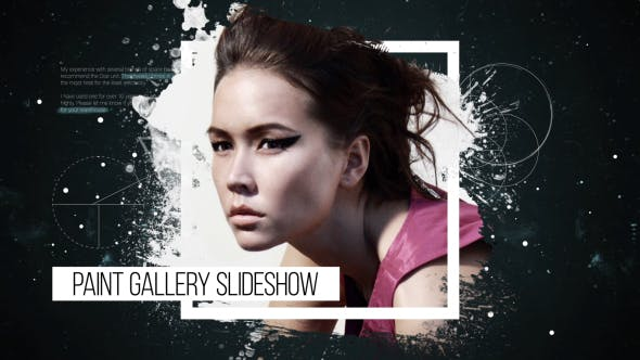 Videohive Paint Gallery Slideshow Free Download