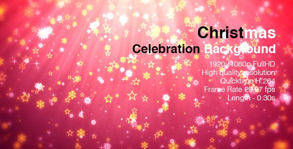 Christmas Celebration Background By Art Dio Videohive