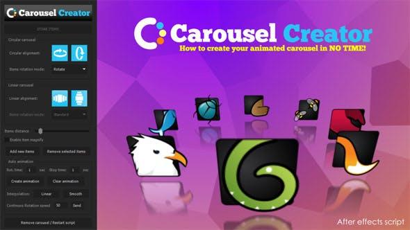 Carousel Creator by marcobelli | VideoHive