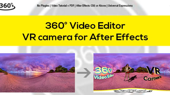 Virtual Reality After Effects Templates from VideoHive