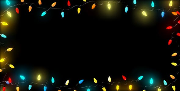 Christmas Lights Overlay Png.Christmas Lights Frame By As 100 Videohive