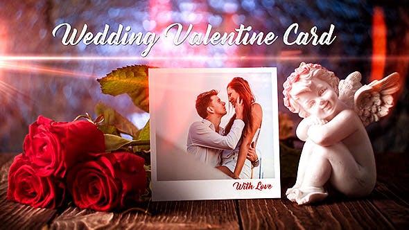 Videohive Wedding Valentine Card 19343478 Free