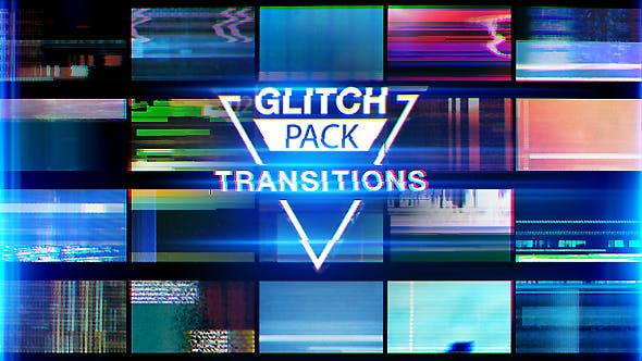Glitch Transitions by mervinregin | VideoHive