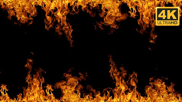 Fire Frame by VFX-elements | VideoHive