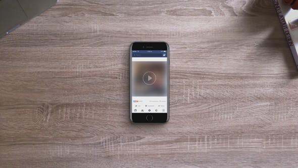Facebook Video Ultimate Iphone Mockup by 120Seconds | VideoHive