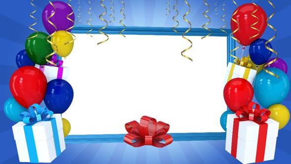 Happy Birthday Frame 2 by lordjony | VideoHive