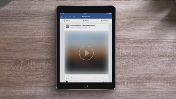 Facebook Video Ultimate Tablet Opener by 120Seconds | VideoHive