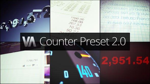 Counter Preset 2 0 by vdodna | VideoHive