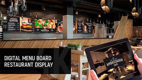Your Choice Auto Sales >> Digital Menu Board - Restaurant Display by one-creative ...