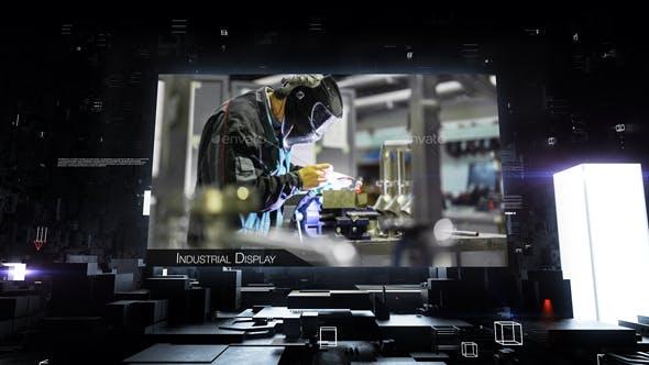 Videohive Industrial Display 19664293 Free