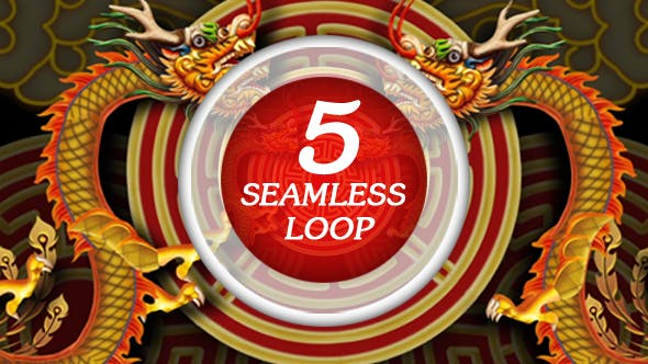 Chinese Dragon VJ Loop by nguluidu | VideoHive