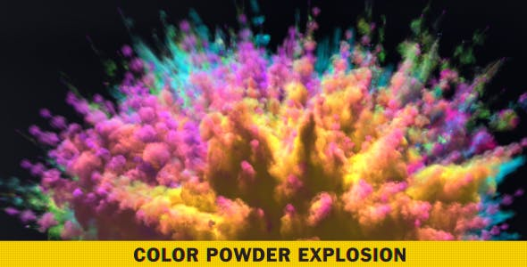 Color Powder Explosion 1 by dg3duy | VideoHive
