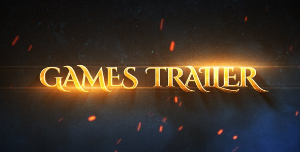 Games Epic Trailer by Mambet   VideoHive