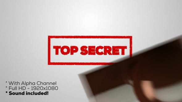 Top Secret - Stamp by _Tempus_   VideoHive
