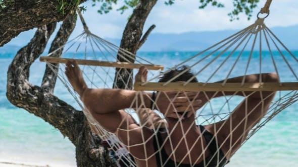 Swinging in a hammock #2