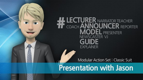 VIDEOHIVE PRESENTATION WITH JASON MODERN SUIT