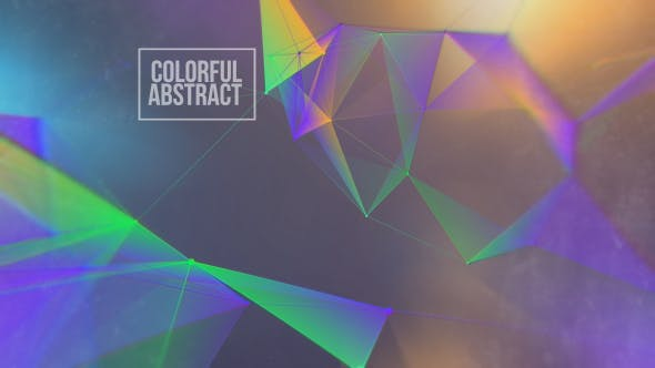 Colorful Abstract Overlay And Background Loop V6 by graysolid