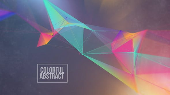 Colorful Abstract Overlay And Background Loop V10 by graysolid