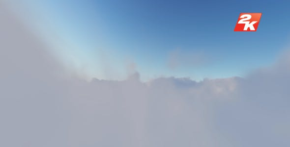 Volumetric Clouds-7 by coolvetica35 | VideoHive