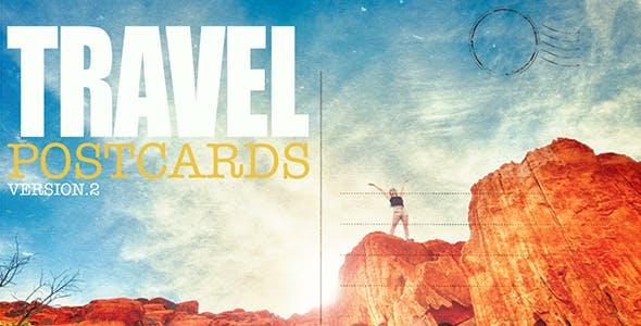Videohive Travel Postcard v2 Free Download