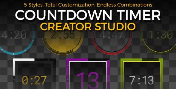 Countdown Timer Creator Studio by taborcarlton | VideoHive