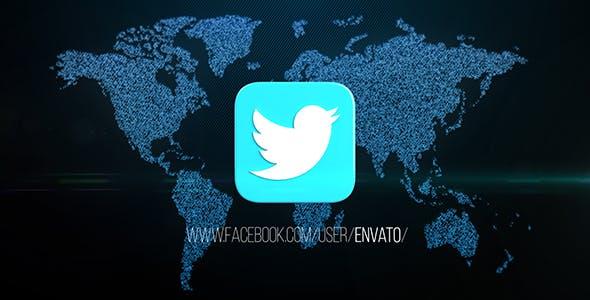 Videohive Social Media Opener Free Download