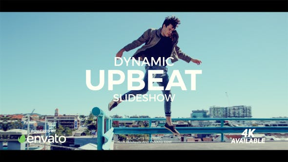 Videohive Dynamic Upbeat Slideshow Free Download