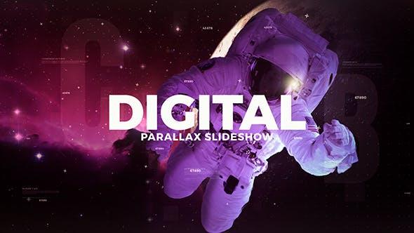 Videohive Digital Parallax Slideshow 20368185 Free Download