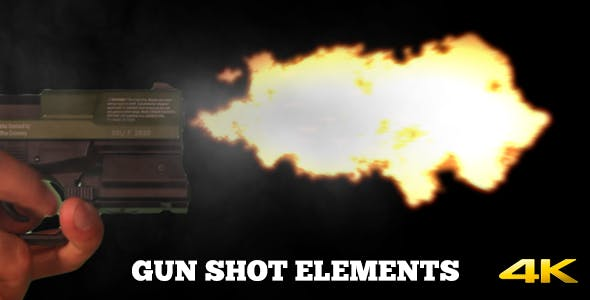 Gun Shot Elements by videologio | VideoHive