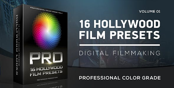 Videohive Hollywood Film Color Grading Free Download