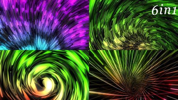 Color Stream - VJ Loop Pack (6in1) by Vj_Yarkus | VideoHive