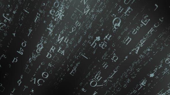 Text Matrix by GalaxyArt | VideoHive