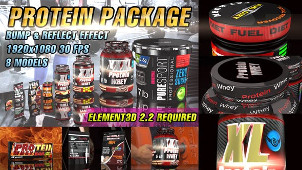 Protein Package Template by v68 | VideoHive