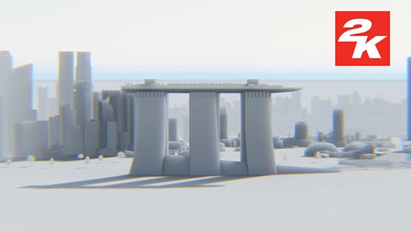 3D Singapore City View 2 by Oskar19 | VideoHive