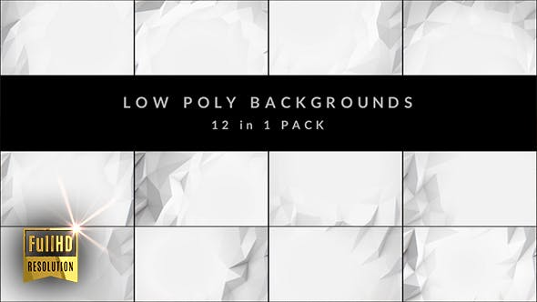 Low Poly Pack (12 in 1) by emotionica | VideoHive
