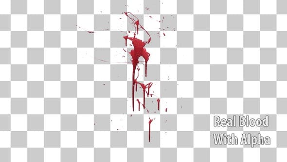 Blood Splatter Real by previsualvfx | VideoHive