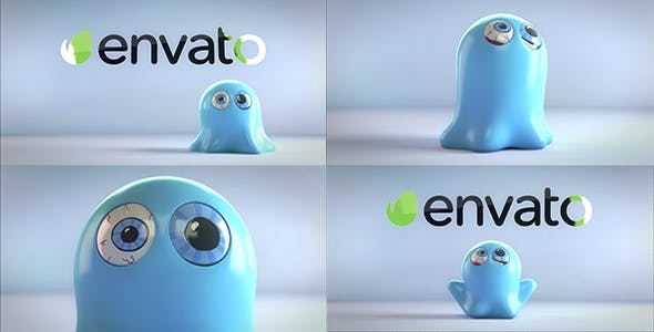 Videohive Funny Ghost Logo Reveal Bundle Free Download