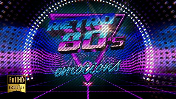 VJ 80's Synthwave Style by emotionica | VideoHive