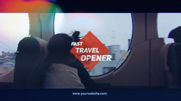 Videohive Fast Travel Opener Free Download