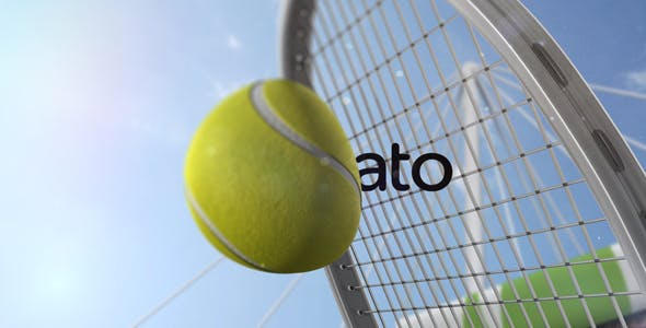 Videohive Tennis Slow Motion Reveal Free Download