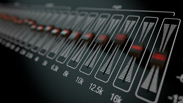 32 Band Graphic Equalizer by NOIZIST | VideoHive